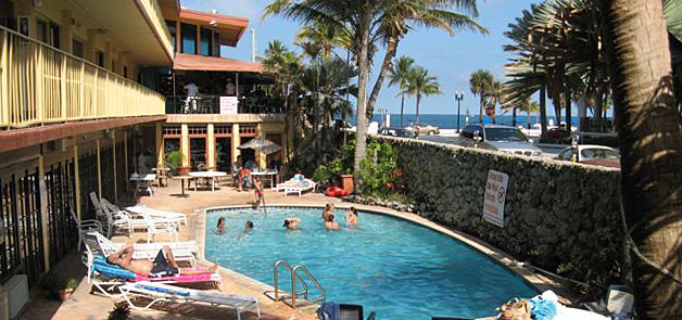 Swimming Pool at the Sea Club Hotel